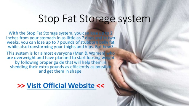 stop fat storage review